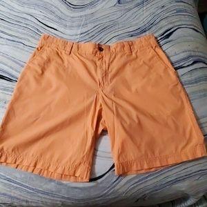 36 orange Izod saltwater shorts